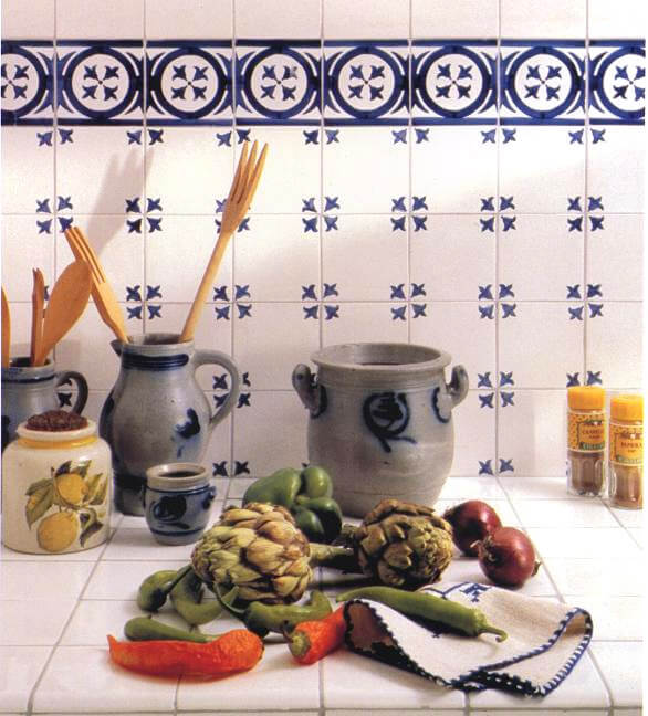 Carr carrelages muraux pour votre cuisine - Carrelage cuisine 10x10 ...